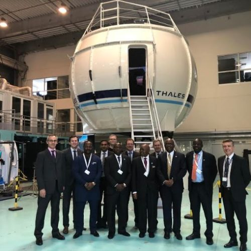 thales caverton flight simulator